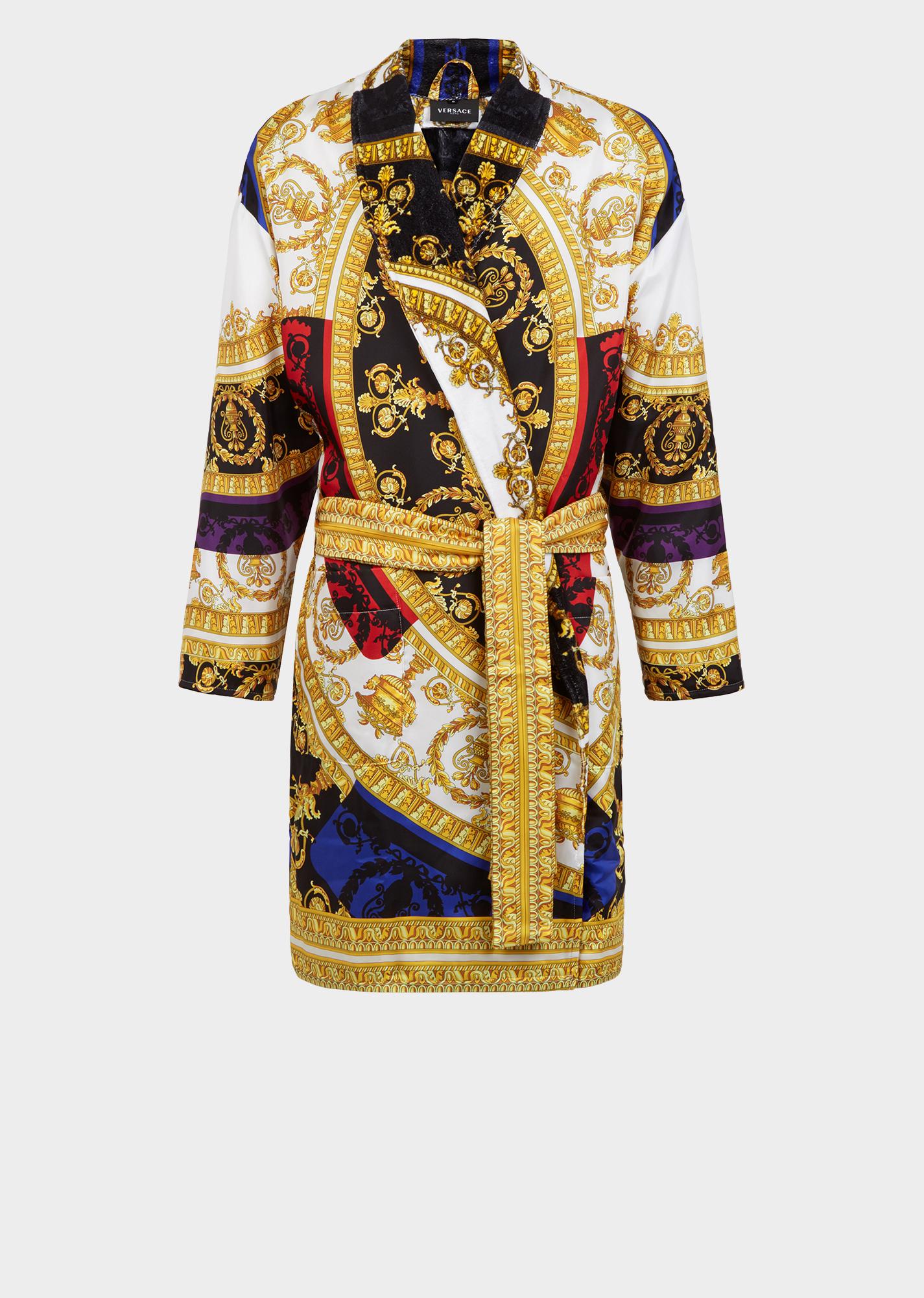 Silk Baroque Bathrobes Versace Online All Travel Essentials