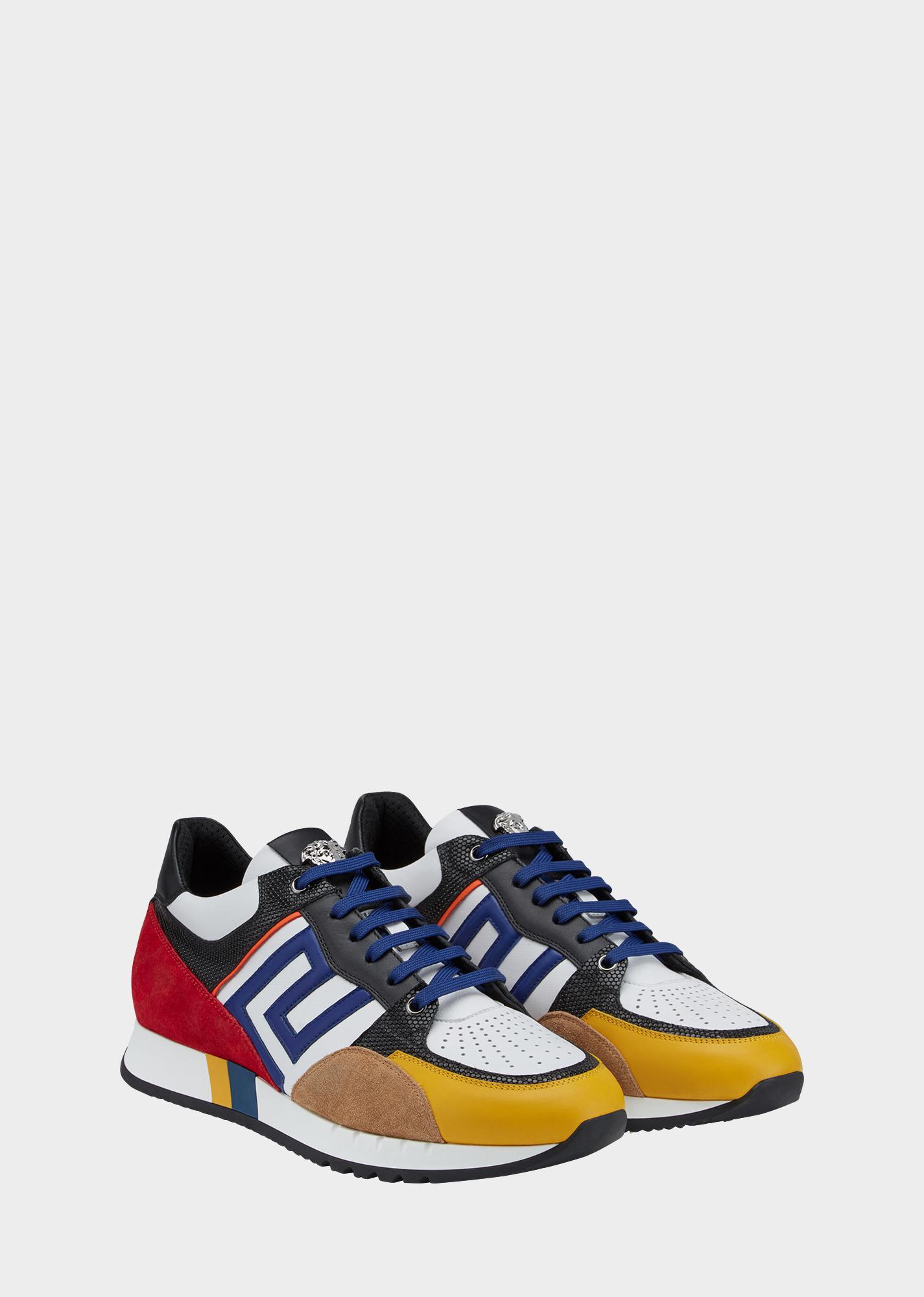 Greek Key Running Shoes-Sneakers