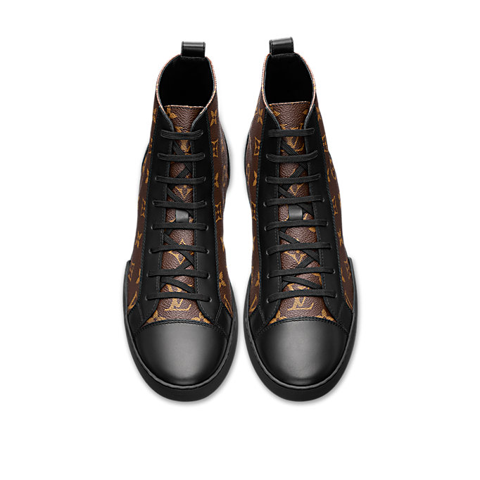 match up sneaker boot louis vuitton