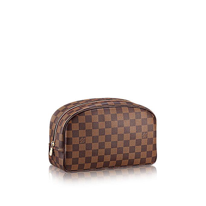 Louis Vuitton Toiletry Bag 25 Damier Ebene Travel All Travel Essentials Louis vuitton mm neverfull bag handbag, free international shipping. louis vuitton toiletry bag 25 damier ebene travel