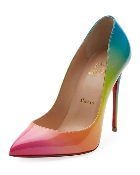 christian louboutin pigalle patent 100mm