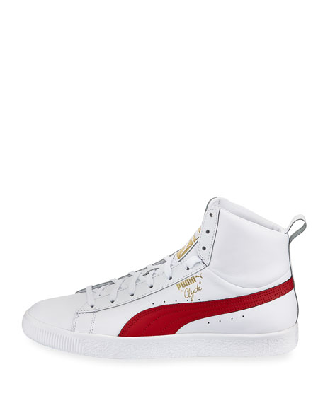 Puma Clyde Mid Core High-Top Leather