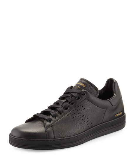 Tom ford Warwick Grained Leather Low
